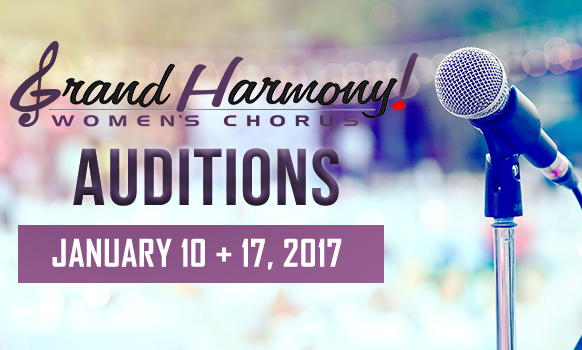 Competition & Show Auditions 2017